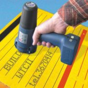 Inkjet marking machine / hand held / manual / compact